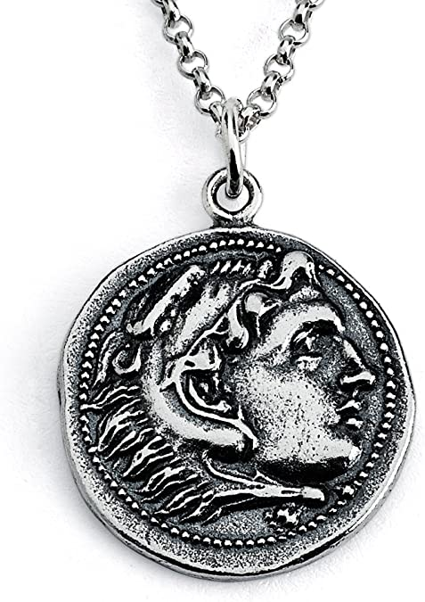 14 Azaggi Sterling Silver Handcrafted Smiling Sun Pendant Necklace
