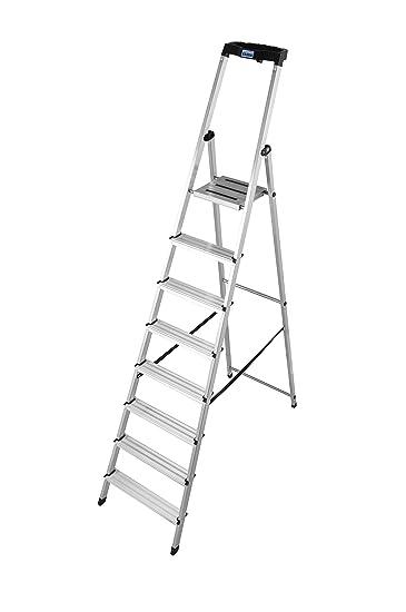 Unterschiedlich KRAUSE Stehleiter Safety, 1 Stück, 8 Stufen, 126368: Amazon.de  PA94