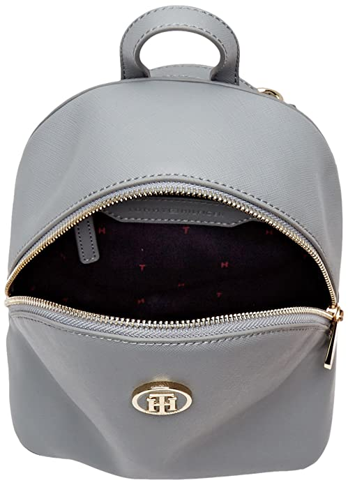 Amazon.com: Tommy Hilfiger Womens AW0AW04637 Backpack Grey Grey (Sharkskin Sharkskin): Shoes