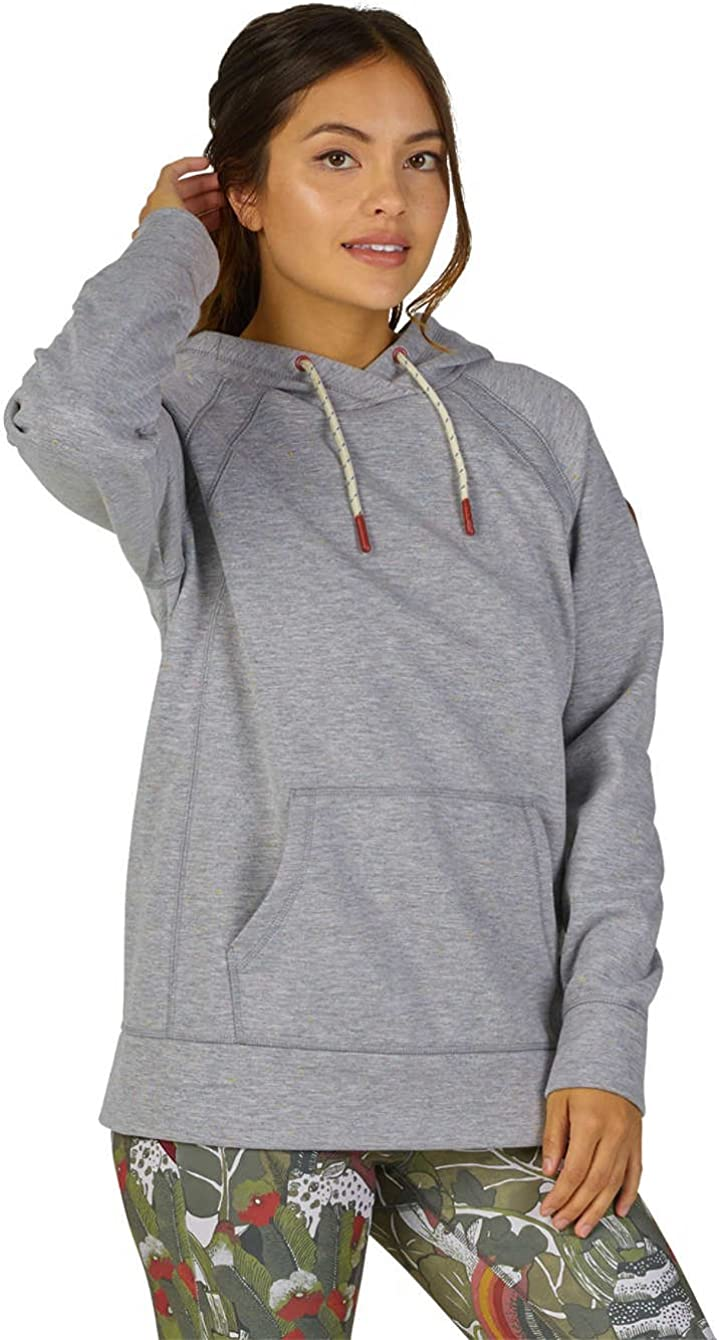 Burton Womens Crown Bonded Pullover Canvas Heather X-Large