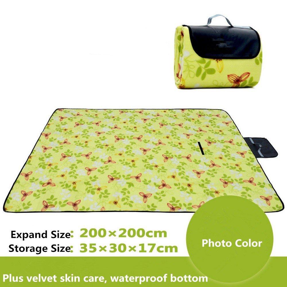DOGYEARDAJI Outdoor Picnic Mat Moisture Picnic Waterproof Tent Pad