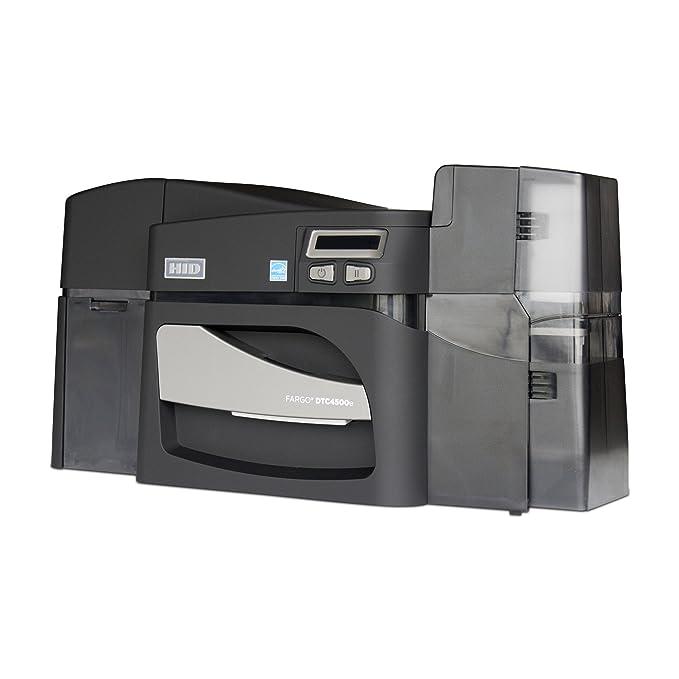 Amazon.com: Fargo dtc4500e Dual-Side Impresora de tarjetas ...