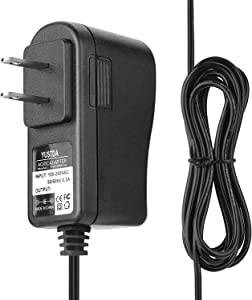 YUSTDA AC/DC Adapter for Turbo Scrub 360 TSDX-MO6 TSDX-M06 TSDXMO6 TSDXM06 TurboScrub 360° Cordless Power Handheld Scrubber DC 5V in DC 5.9V 5.9 V in Power Supply Cord Battery Charger