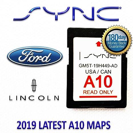 Latest 2013-2016 Lincoln MKC MKS MKT MKX MKZ Navigator A10 Navigation SD Card