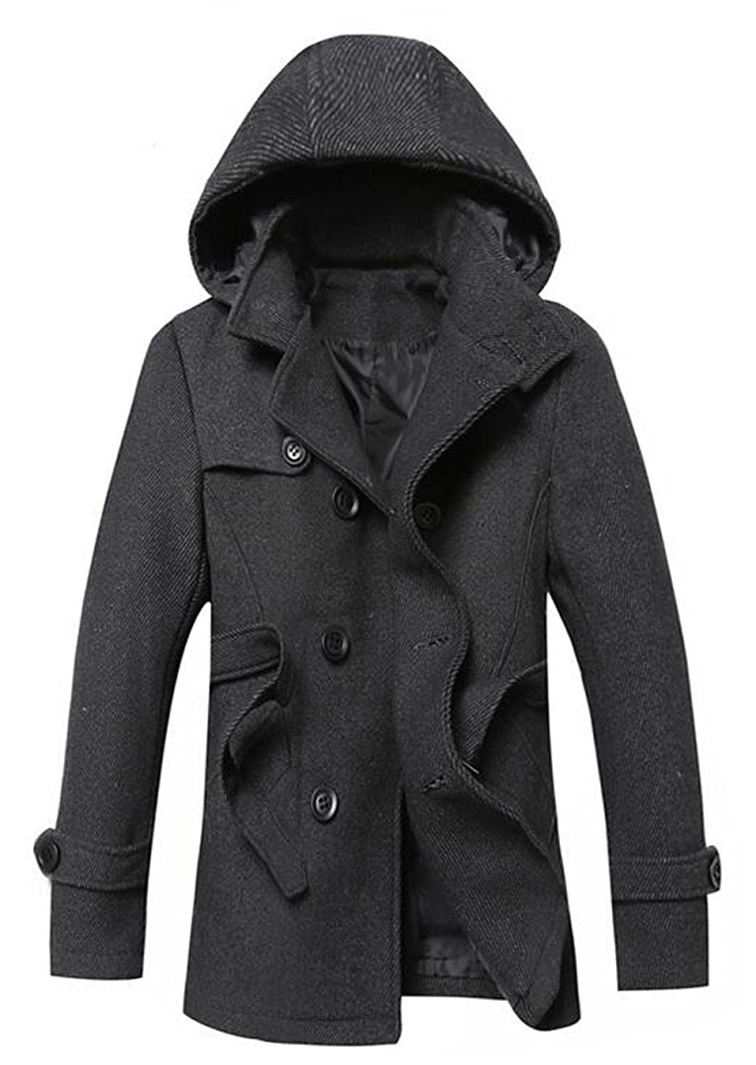 Men's Winter Fashion Woolen Coat XXZTQ