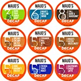 Maud's Decaf Coffee Variety Pack, 80ct. Recyclable Single Serve Decaf Coffee Pods - 100% Arabica Coffee California…