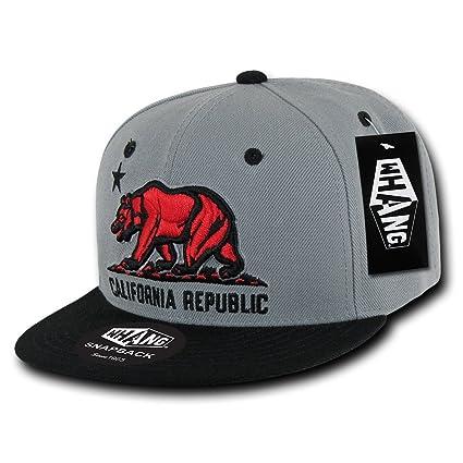 Amazon.com  WHANG California Republic Snapbacks a8add1a1931
