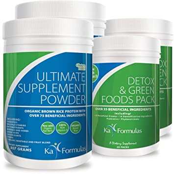 Amazon.com: ka fórmulas 20 día detox/limpieza programa arroz ...