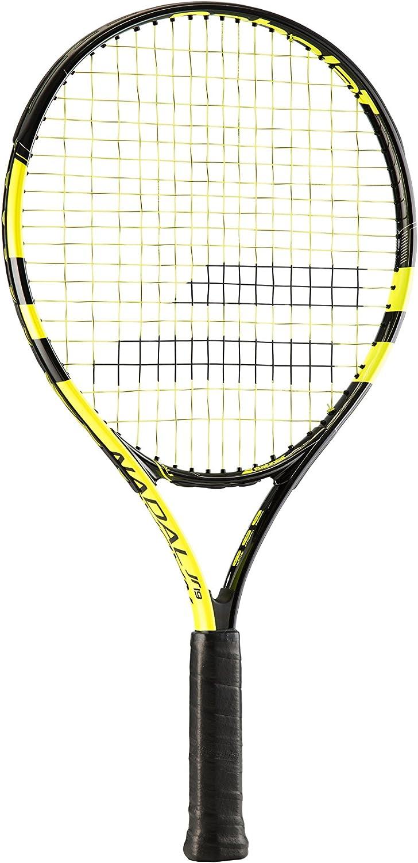 Amazon Com Babolat Kid S Nadal 19 Tennis Racquet Yellow 0000 Grip Sports Outdoors