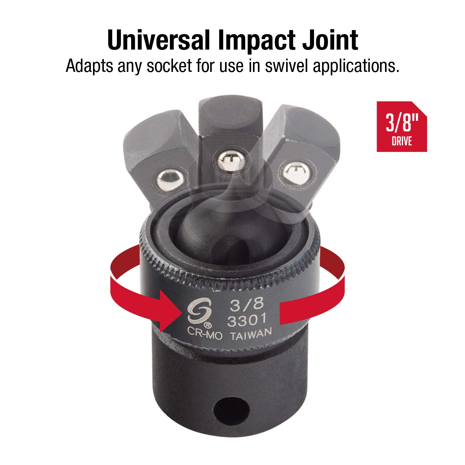 3//8DR IMP UNIVERSAL JOINT