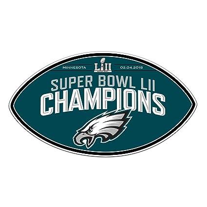 Image Unavailable. Image not available for. Color  Fremont Die NFL  Philadelphia Eagles Super Bowl 52 Champions 12-Inch Magnet 13e340849