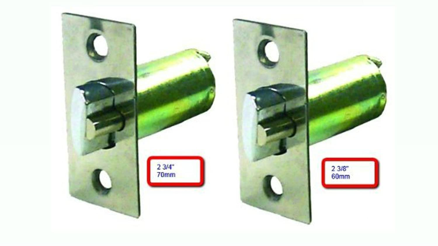 DeadLatch Replacement For Knob & Lever Door Lock (2 3/4