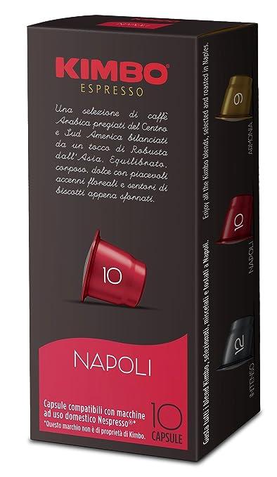 27 opinioni per Kimbo Capsule Napoli Compatibili Nespresso (12 astucci da 10 capsule- totale 120
