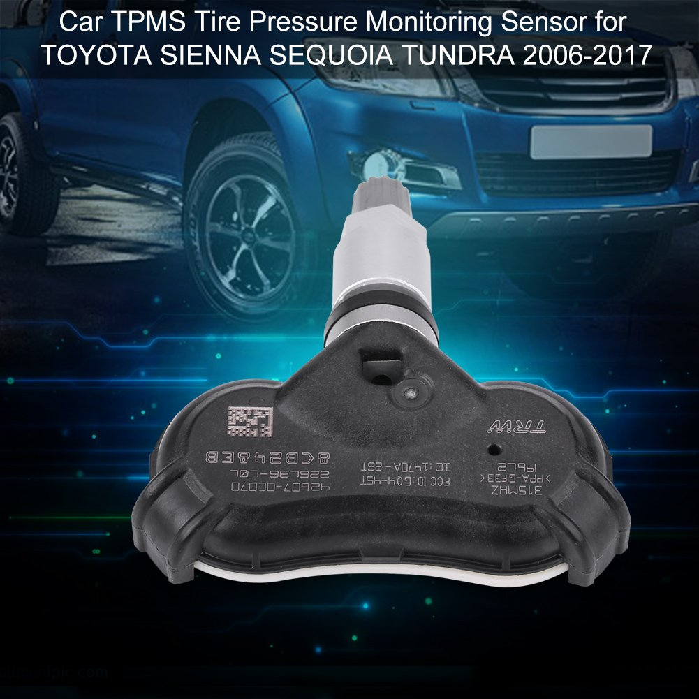 Yosooo Car TPMS Tire Pressure Monitoring Sensor for TOYOTA SIENNA SEQUOIA TUNDRA 2006-2017 42607-0C070 by Yosooo (Image #7)