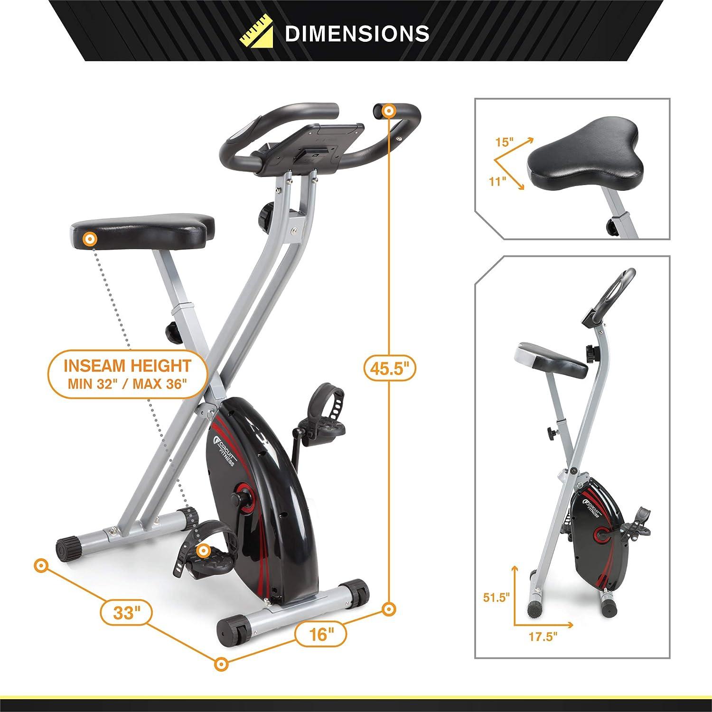 Circuit Fitness 150 Foldable Bike