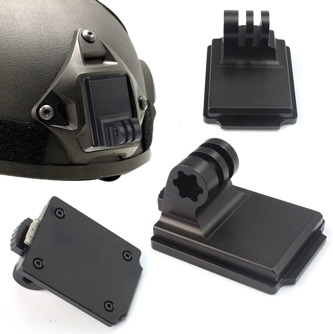 Bracket Holder for Gopro Camera NVETactical Helmet-033
