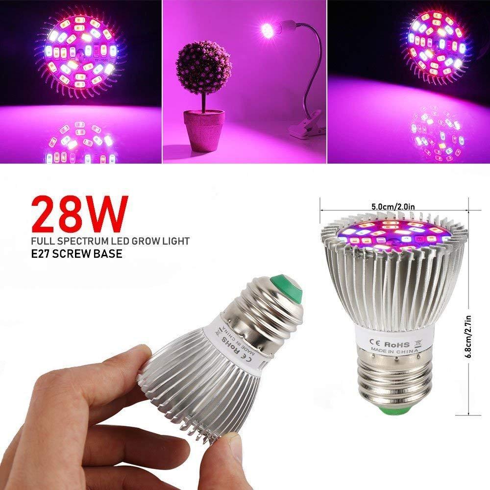 Croissance Grow 150 E27 Plante Led De 100w Leds Lampe edxBoCr