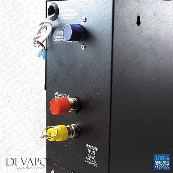 Kit de 9 kW generador de vapor para baño de vapor Generador de vapor | 220 V | Panel de control |: Amazon.es: Bricolaje y herramientas