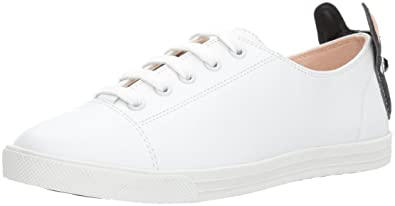 Amazon.com  Kate Spade New York Women s Lucie Sneaker White 6.5 ... 12a79a70e2