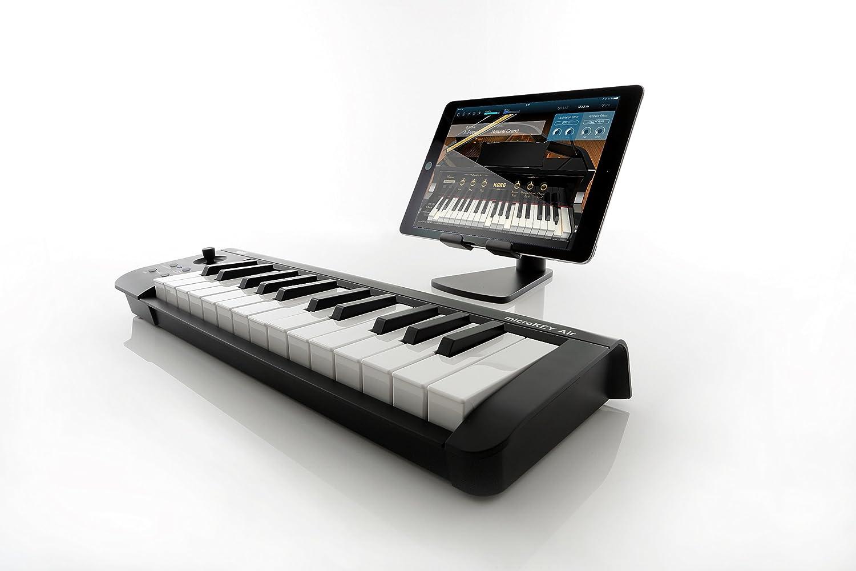 KORG MICROKEY2-25AIR Bluetooth Wireless and USB MIDI Controller - 25 Key -  Black