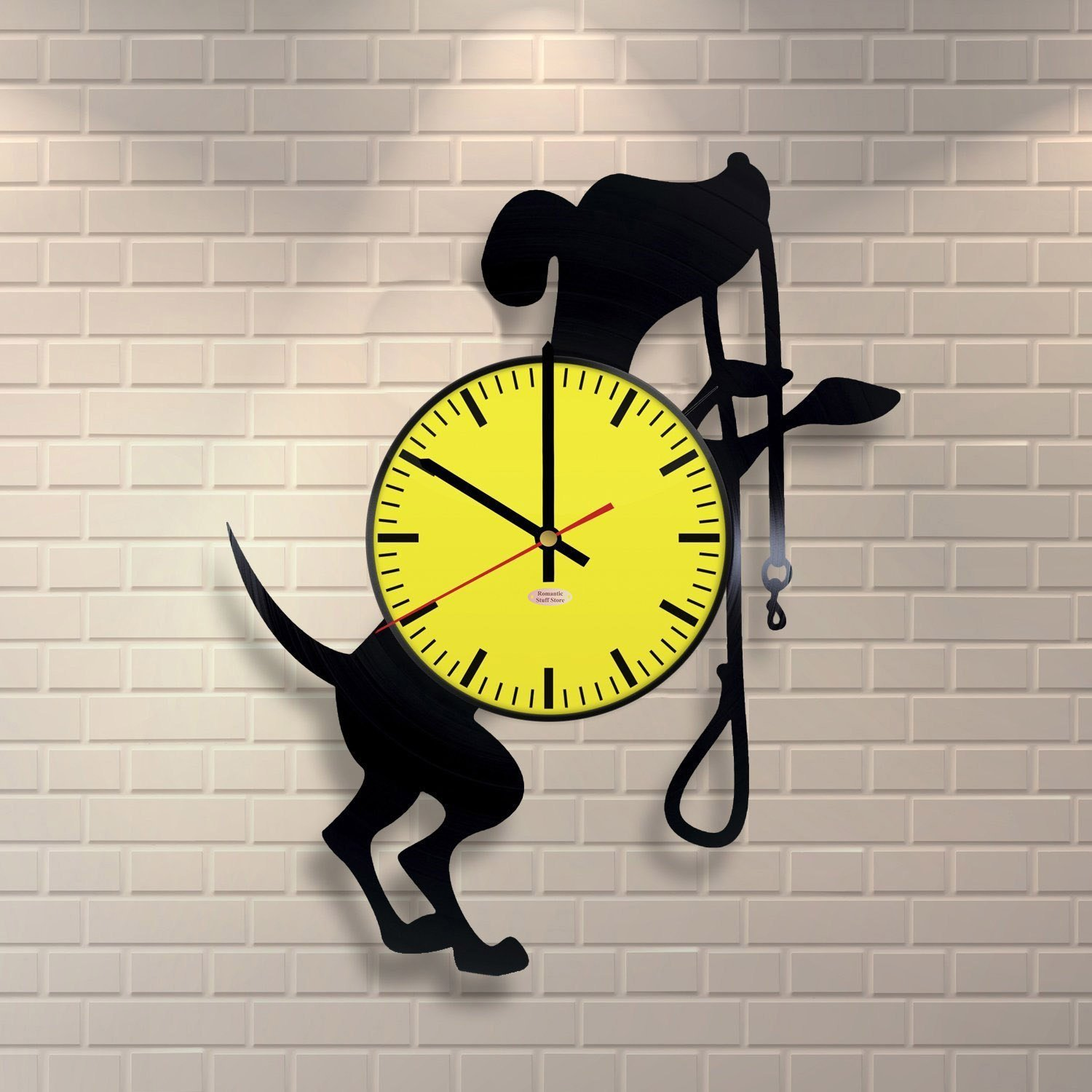 Amazon.com: Dog Breed Ornaments Vinyl Record Wall Clock - Get unique ...