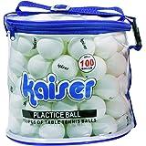 カイザー(kaiser) 卓球 ボール 100P セット KW-252 ケース付