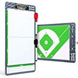 Champion Sports Large & XL Dry Erase Board For Coaching - Whiteboards for Strategizing, Techniques, Plays - 2-Sided…