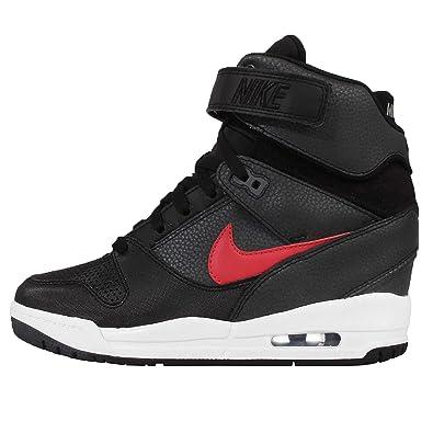 new style 6e794 40777 Nike Womens WMS Air Revolution Sky Hi Sports Shoes Black Size 3 UK