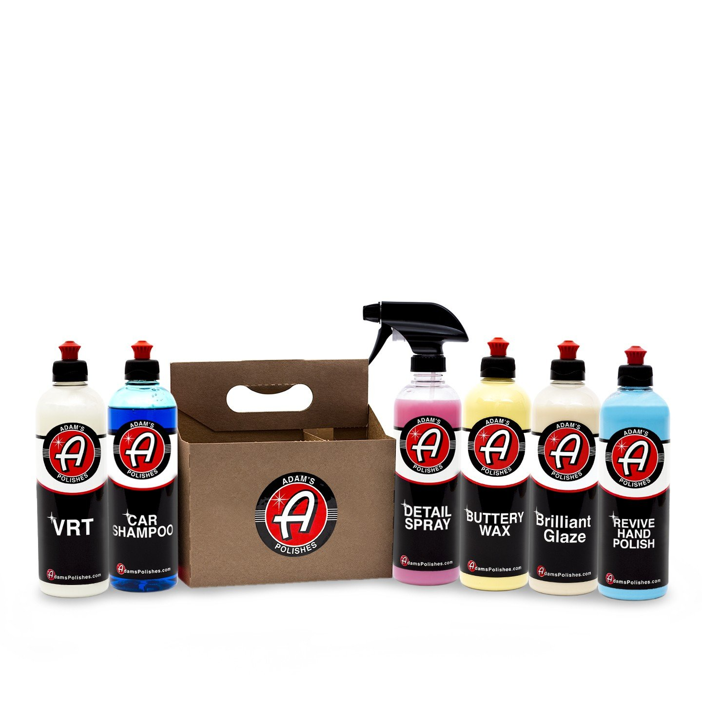 adams polishes  : Adam's Exterior 6 Pack - Includes Six Iconic Products to ...