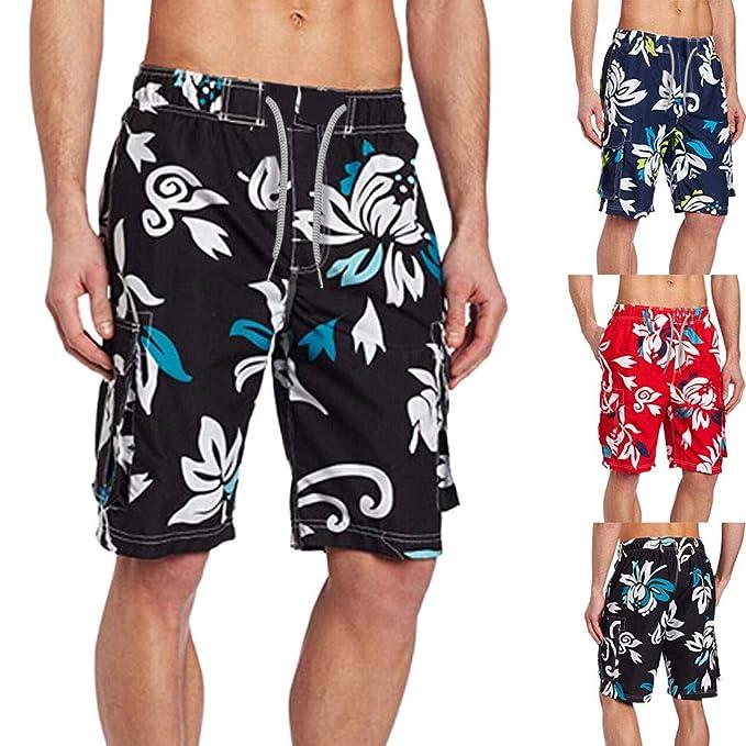 Misswongg Playa 2019 Pantalones Pants Flores Hombre Estampado zUSGqMVp