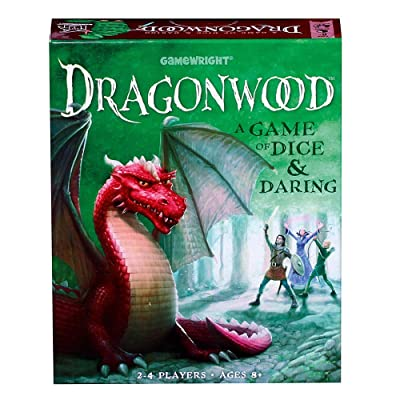Dragonwood A Game of Dice & Daring Board Game: Toys & Games