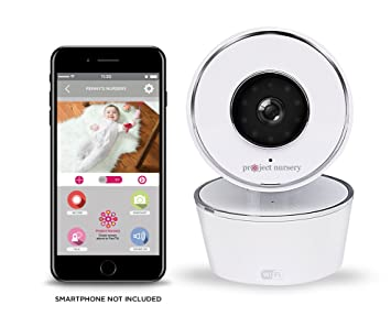 3284730932b Project Nursery HD WiFi Video Baby Monitor System with Sound