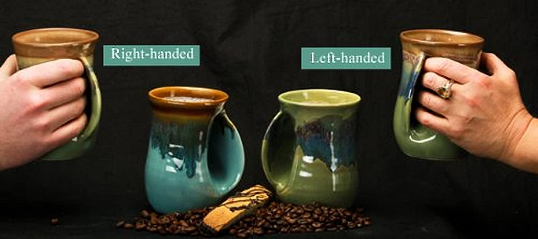Left Hand Desert Sand 14 Ounce Ceramic Handwarmer Coffee Mug