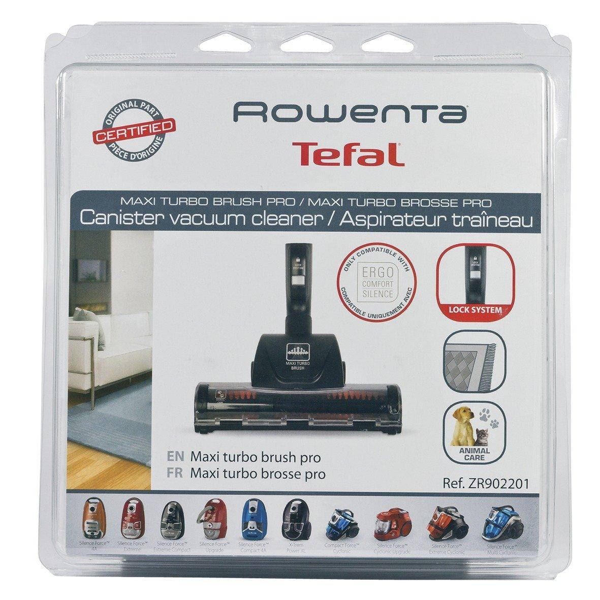 Rowenta máximo de Turbo de cepillo ZR 902201 EAN: 3507790043554: Amazon.es: Electrónica