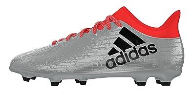 timeless design 71c5c 61b89 adidas X 16.3 FG, Chaussures de Foot Homme, Plata (Plamet Negbas