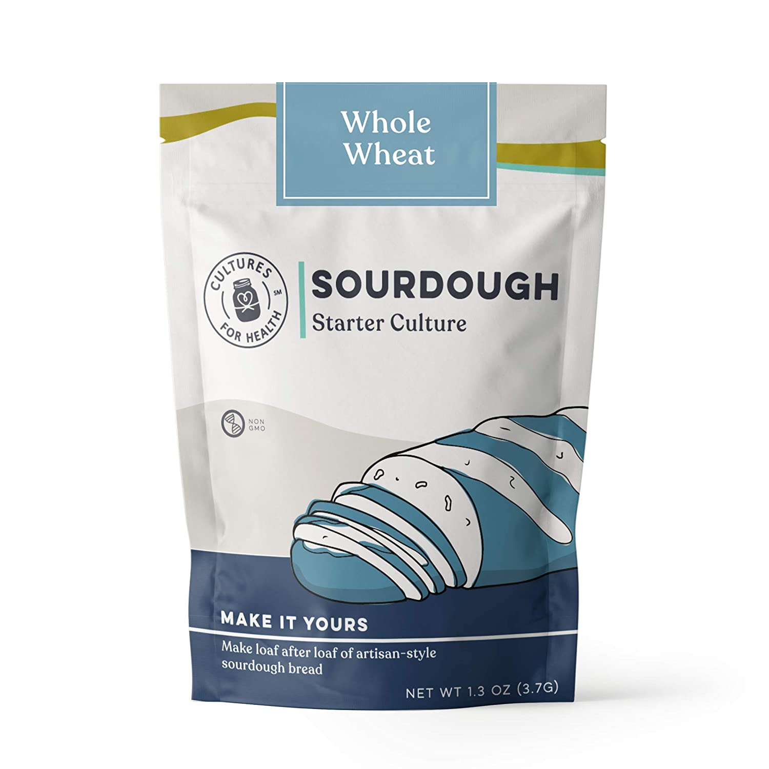 Whole Wheat Sourdough Starter Culture | Cultures for Health | Homemade, healthy, artisan, digestible bread | Heirloom, non-GMO