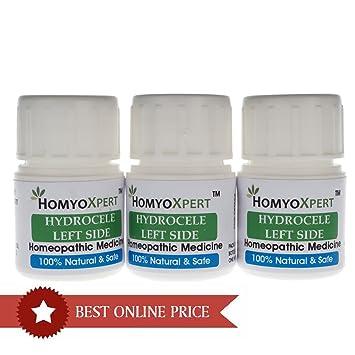 Amazon com: HomyoXpert Hydrocele (Left Side) Homeopathic