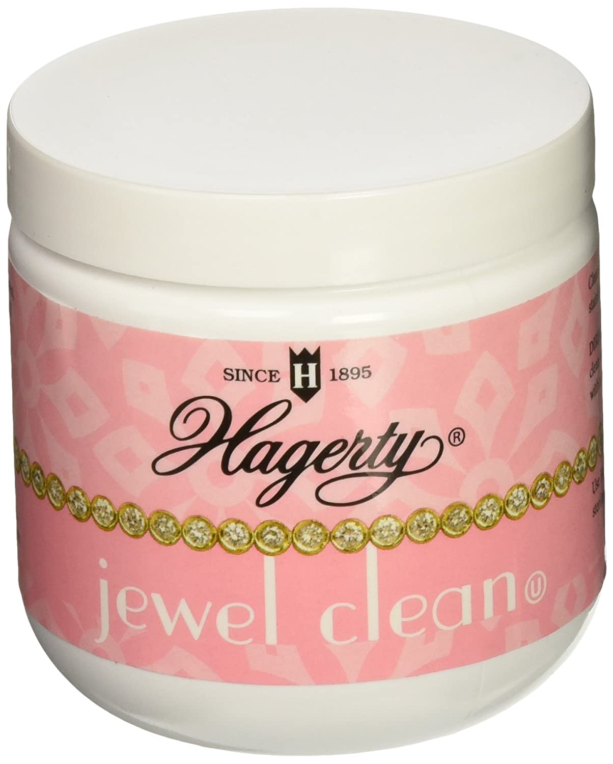 Hagerty 7 oz Jewelry Cleaner, White W. J. Hagerty 16007