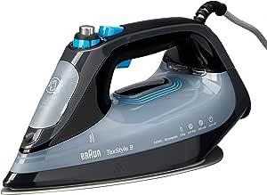 Braun TexStyle 9 Ironing Appliances, Black, SI9148EBK