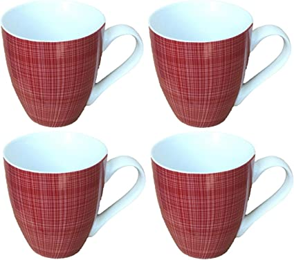 Pair of Mugs Porcelain  Large Coffee Soup Hot Cocoa Chocolate
