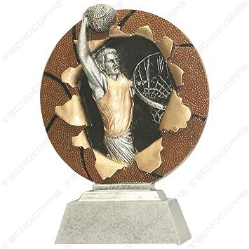 tecnocoppe Trofeo Basket - Cartel de Baloncesto de 16 cm de Altura ...