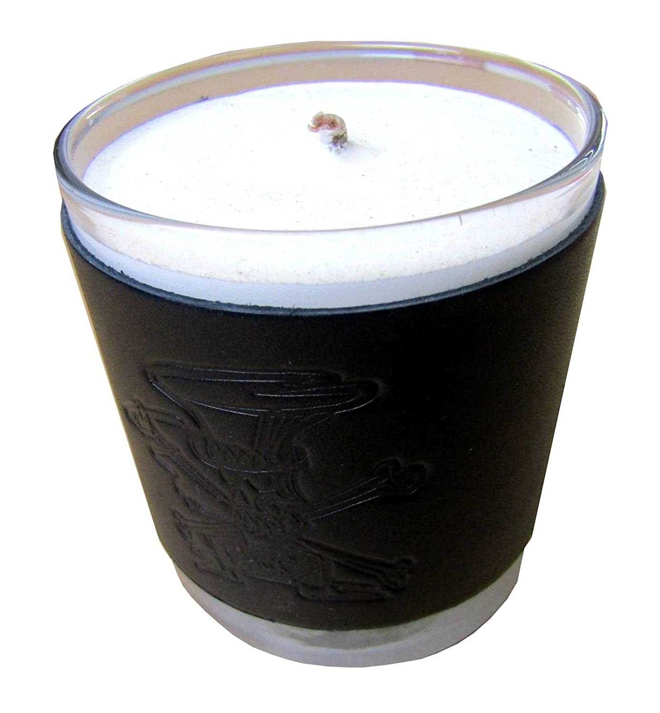 お気に入り スラッシュエンボスレザーSpiced Scented Cider Scented Candle inガラス B079T8RW7G inガラス B079T8RW7G, 猫のスマイル:c77de06c --- egreensolutions.ca
