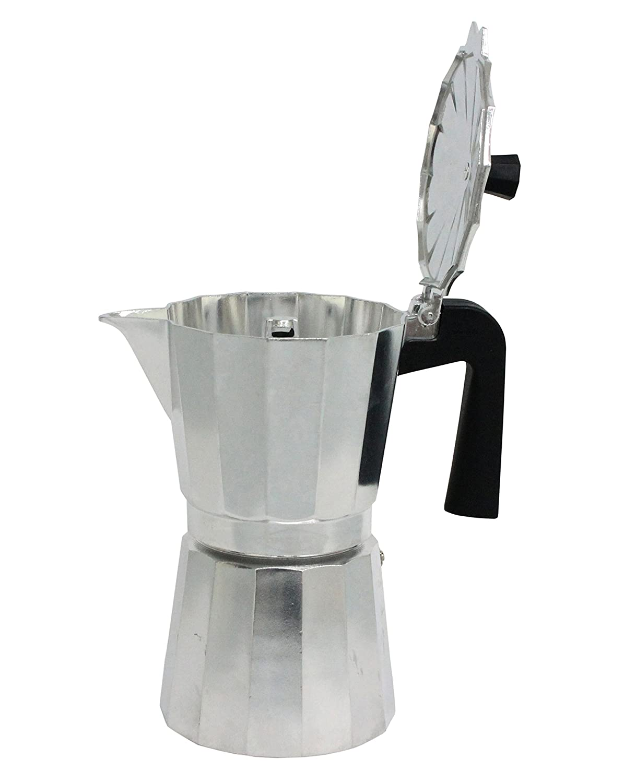 1 Taza Cafetera Italiana New Vitro de Aluminio Oroley