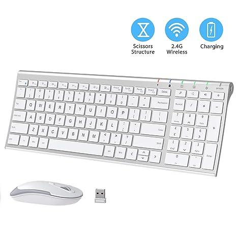 Amazon.com: iClever GK03 Combo de teclado y ratón ...