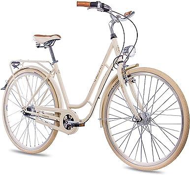 Bicicleta de paseo Chrisson para mujer, 71,12 cm, estilo vintage con ...