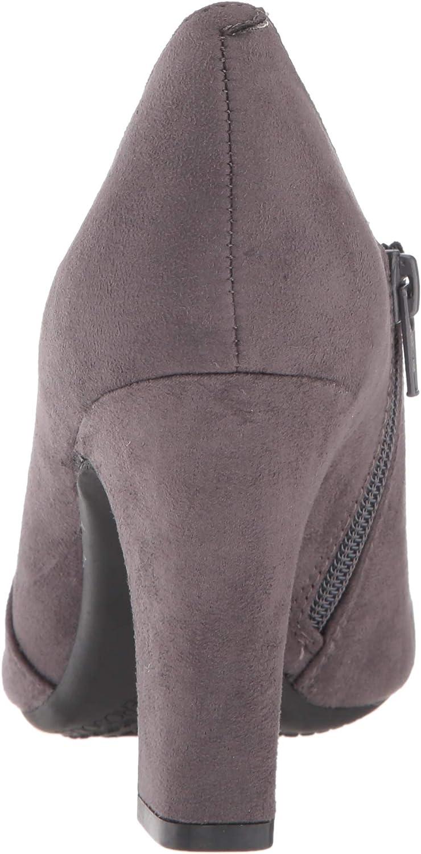 Aerosoles Women's Nametag Ankle Boot Grey Fabric