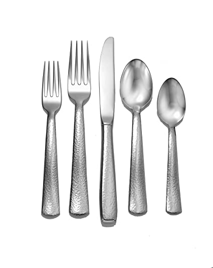 Amazoncom Liberty Tabletop Pinehurst 65 Piece 1810 Flatware Set
