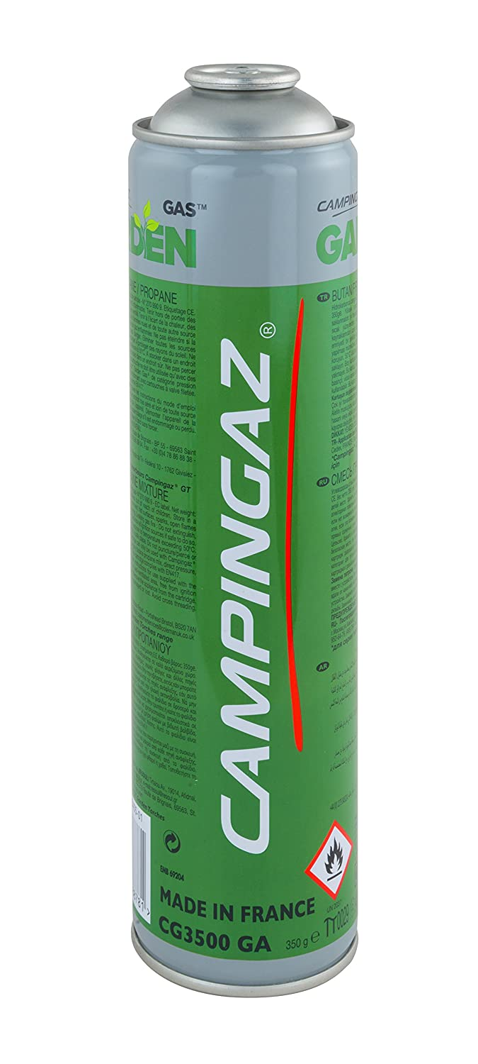 Campingaz CG3500 GA Outdoor Camping Cartridge available in Green - 350 gram 3000004224