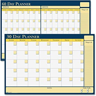 product image for House of Doolittle Plan-A-Board 30/60 Day Non-Dated Laminated Planner Reversible 24 x 18 Inch (HOD641)