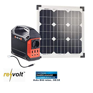 reVolt Batería Solar de Power Banks: Solar de Generador & Power ...